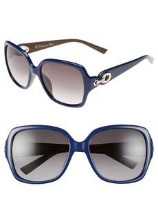 Christian Dior 57mm Sunglasses