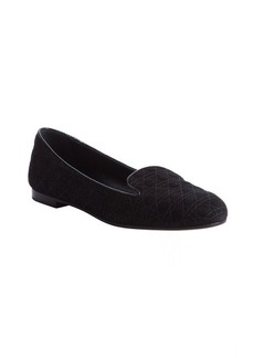 Christian Dior black 'Dior' slipper loafers