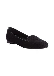 Christian Dior black 'Dior' slipper loafers