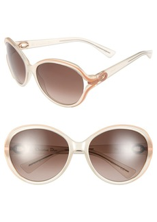 Christian Dior 'Elle 2' 60mm Sunglasses