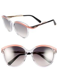 Christian Dior 'Metaleyes 1' 57mm Retro Sunglasses