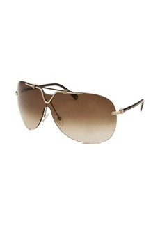 Christian Dior Women's Dior 57th Rimless Aviator Sunglasses