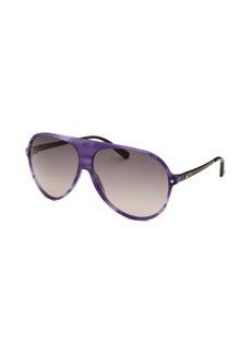 Christian Dior Women's Les Marquises Aviator Light Purple Sunglasses
