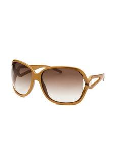 Christian Dior Women's Madrague Square Dark Gold Sunglasses