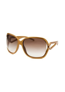 Christian Dior Women's Madrague Square Dark Gold Sunglasses