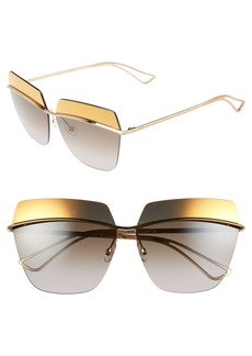 Dior 63mm Retro Metal Sunglasses