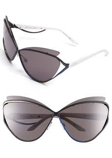 Dior 'Audacieuse 1' 72mm Butterfly Sunglasses