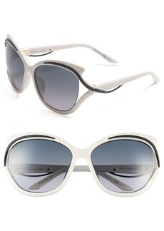 Dior 'Audacieuse' 59mm Butterfly Sunglasses