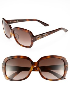 Dior 'Brilliance - Special Fit' 58mm Sunglasses