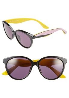 Dior 'Envol 3' 55mm Cat Eye Sunglasses