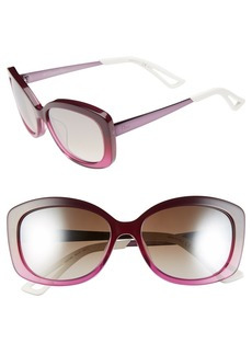 Dior 'Extase 2' 56mm Retro Sunglasses