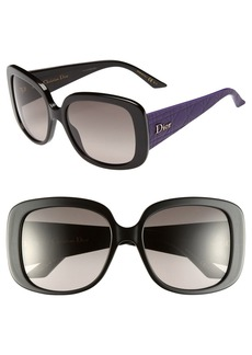 Dior 'Ladylady' 56mm Sunglasses