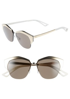 Dior 'Mirrors' 55mm Cat Eye Sunglasses