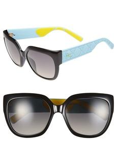 Dior 'My Dior 3 R' 57mm Oversized Sunglasses