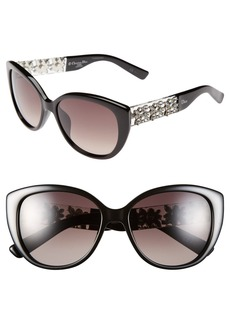 Dior 'Mystere' 57mm Sunglasses