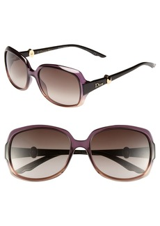 Dior 'Mystery 2' 56mm Sunglasses