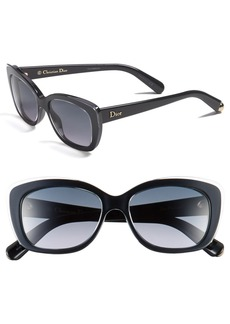 Dior 'Promesse' 53mm Retro Sunglasses