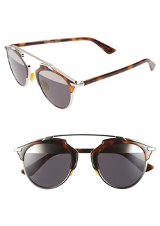 Dior 'So Real' 48mm Sunglasses