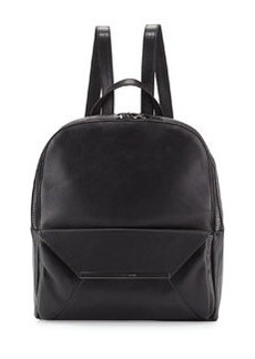 Christian Lacroix Aurora Leather Backpack, Black