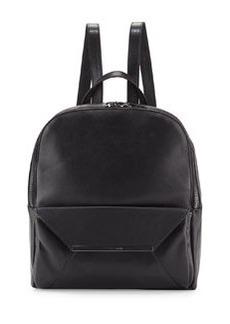 Christian Lacroix Aurora Leather Backpack, Black
