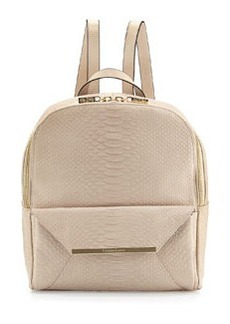 Christian Lacroix Aurora Snake-Embossed Backpack, Dune