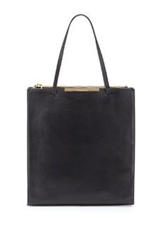 Christian Lacroix Aymeline Leather Tote, Black
