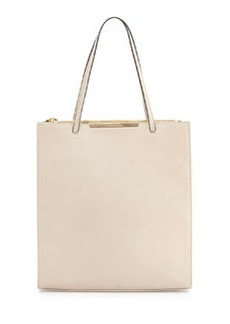 Christian Lacroix Aymeline Leather Tote, Dune