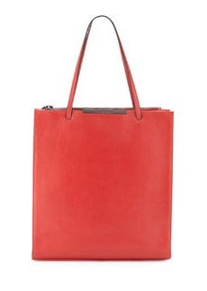 Christian Lacroix Aymeline Leather Tote, Red
