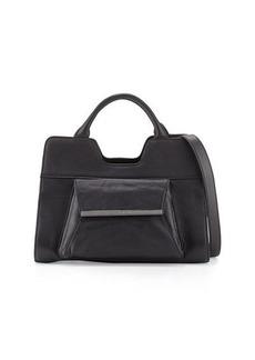 Christian Lacroix Bolaria Leather Satchel