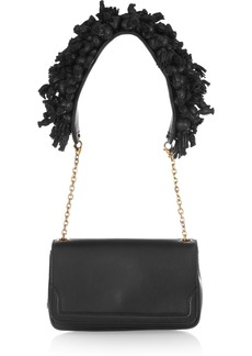 Christian Louboutin Artemis embellished leather shoulder bag