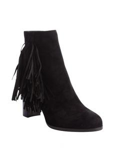 Christian Louboutin black suede tassel detail 'Jimmynetta 70' boots