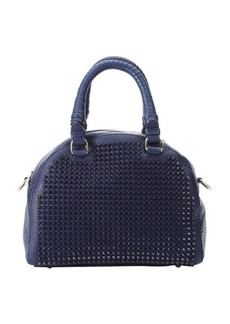 Christian Louboutin eclipse calfskin spiked small 'Panettone' satchel bag