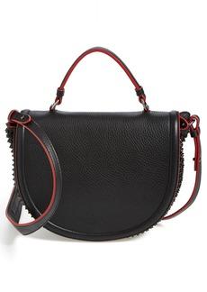 Christian Louboutin 'Panettone' Studded Calfskin Messenger Bag