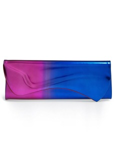 Christian Louboutin 'Pigalle - Scarabe' Dégradé Patent Leather Clutch
