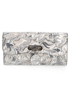 Christian Louboutin 'Riviera - Marble' Patent Leather Clutch