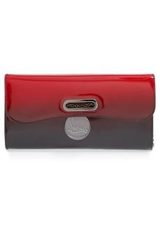 Christian Louboutin 'Riviera' Dégradé Patent Leather Clutch