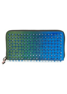 Christian Louboutin 'Scarab Spikes' Patent Leather Wallet