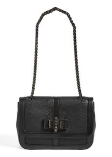 Christian Louboutin 'Small Sweet Charity' Studded Bow Flap Shoulder Bag