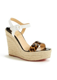 Christian Louboutin 'Spachica' Espadrille Wedge