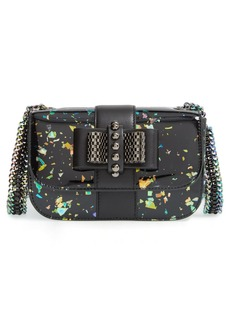 Christian Louboutin 'Sweety Charity' Patent Leather Shoulder Bag