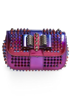 Christian Louboutin 'Sweety Charity Scarab Spike' Patent Leather Clutch