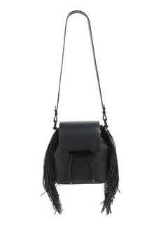 Christian Louboutin 'Lucky L' Convertible Fringe Backpack