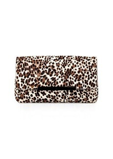 Rougissime Leopard-Print Calf Hair Clutch Bag   Rougissime Leopard-Print Calf Hair Clutch Bag