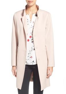 Cinzia Rocca A-Line Wool Gabardine Coat