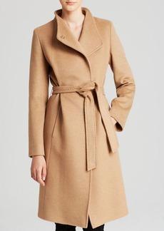 Cinzia Rocca Coat - Asymmetric Belted Camel Hair