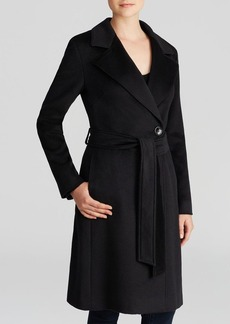 Cinzia Rocca Coat - Blac Notch Wrap