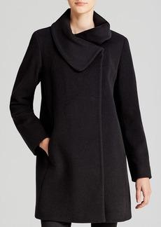 Cinzia Rocca Coat - Due Envelope Collar