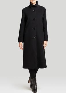 Cinzia Rocca Coat - Due Stand Collar