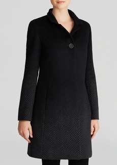 Cinzia Rocca Coat - Notched Collar Button