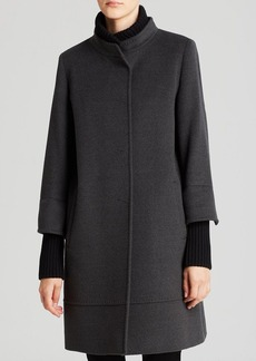 Cinzia Rocca Coat - Walker Knit Trim